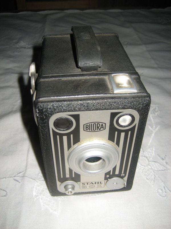 Bilora Boxkamera Stahl Box Rollfilm