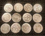 Silbermünzen Mittelalter