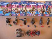 Playmobil 4807-4812 Wolfsritter Kämpfer Gespann