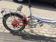 20 Falttanden vollgefedert E-Bike - paßt