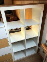 Ikea 2x4 Kallax Regal weiß