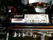 SSD MVMe 500GB Kingston A2000 -
