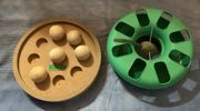 Katzenspielzeug Kugelbahn Intelligenzspiel Leckerchenspiel