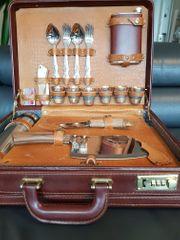 Grill-Koffer Picknick-Set Weihnachtsgeschenk