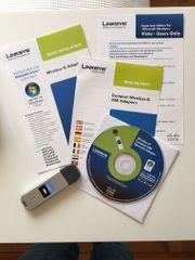 Linksys Wireless G - Compact USB