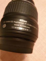 Nikon D40 O Objektiv