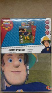 Feuerwehrmann Sam Bettwäsche --- Neu