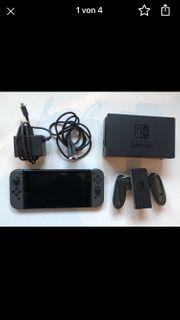Nintendo Switch grau 128GB SD