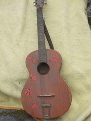 diverse gebrauchte Gitarren