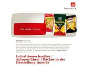 Industriemechaniker Anlagenführer Bäcker