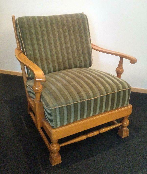 Antik Vintage Sessel Im Art Deco Stil Club Sessel 2 Stuck