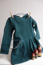 teal - blaugrünes - Kleid Gr 98