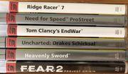 PS3 6 Spiele Sammlung Need