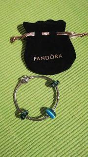 Pandora Armband Herzverschluss inkl 3
