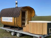 Mobile Sauna Sommer wie Winter
