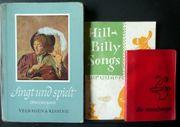3 Liederbücher alt und teilweise