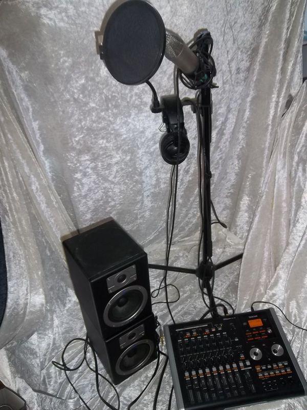 Tonstudio 8 Spuren Set TASCAM