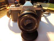 Pentax ME Super Spiegelreflexkamera mit