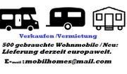 Verkauf und Vermietung von Wohnmobilen