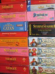 diverse SIEDLER CATAN DOMINION Spiele