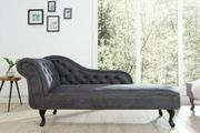 NEU Recamiere Couch Sofa Chesterfield