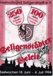 Seligenstädter Geleit - Festwochen 1994