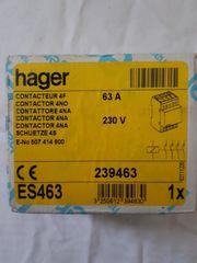 Hager ES463 Schütz 4 Schliesser