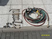 Brennergarnitur Schweißbrenner