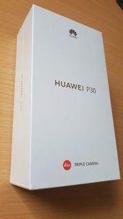 Huawei P30 128GB Black Ohne