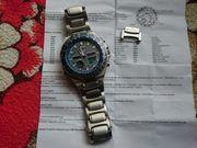 Herren Funk - Solar Armbanduhr