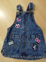 Kinder-Jeanskleid Gr 92