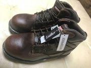 Craftsman Sicherheitsschuhe Leder Stiefel Boots
