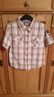 Jungenhemd Hemd mit coolem Safari-Aufdrucken
