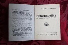 Naturgetreue Ehe von Dr Josef: Kleinanzeigen aus Niederfischbach - Rubrik Allgemeine Literatur und Romane