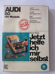 Reparatur Buch AUDI 80 alle