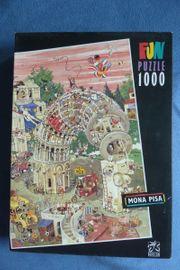 Puzzle Mona Pisa 1000 Teile