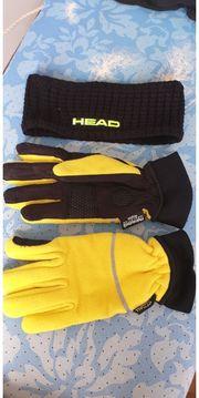 Sport Handschuhe und Stirnband
