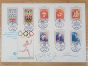 Olympia 1976 Montreal Ersttagsbrief FDC