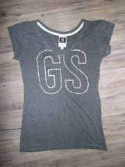G-Star Shirt grau Gr S