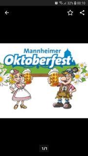 Suche Karten für Mannheimer Oktoberfest