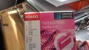 3 Druckerpatronen für HP H364XL
