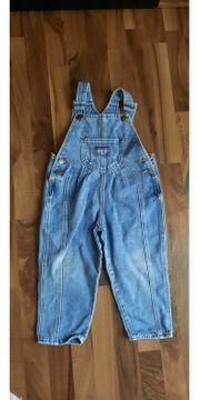 Latzhose Jeans Gr 92