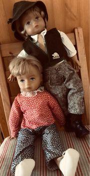 Zwei Puppen von Schildkröt