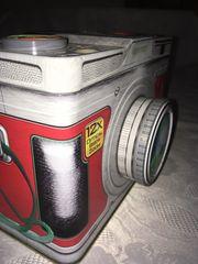 Blechdose und Vorratsdose Kamera Design