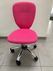 Kinder Schreibtischstuhl zu verkaufen pink