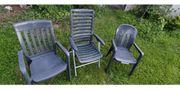 Verschenke 3 Gartenstühle