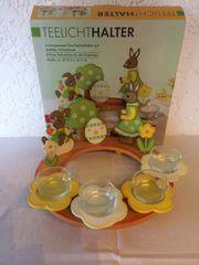 Teelichthalter Osterdekoration in OVP NEU