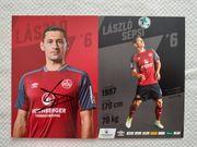 Autogrammkarte Laszlo Sepsi 1 FC