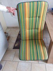 Auflagen für Gartenstühle