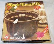Keramik Backform Gugelhupf